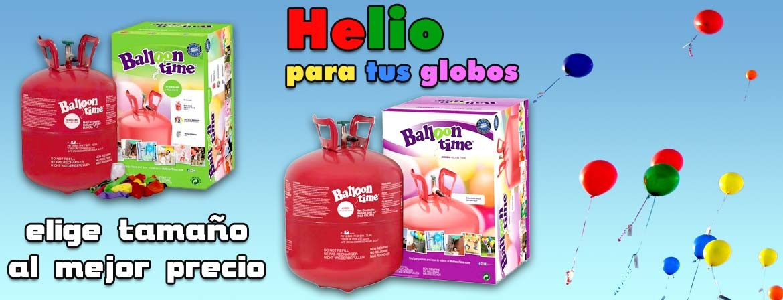Botellas de helio baratas